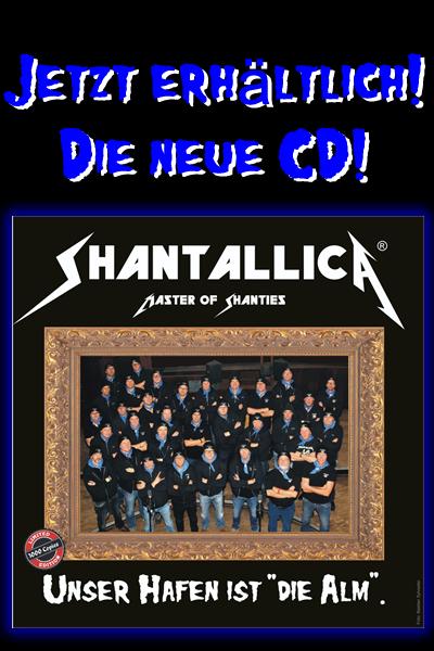 Die neue Shantallica CD